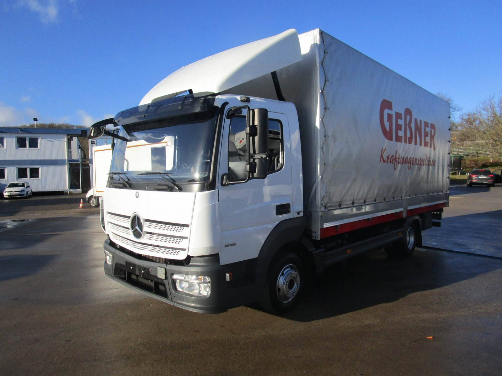 ATEGO IV 818 L Pritsche/Pl. 6,10 m LBW 1 to.*E 6