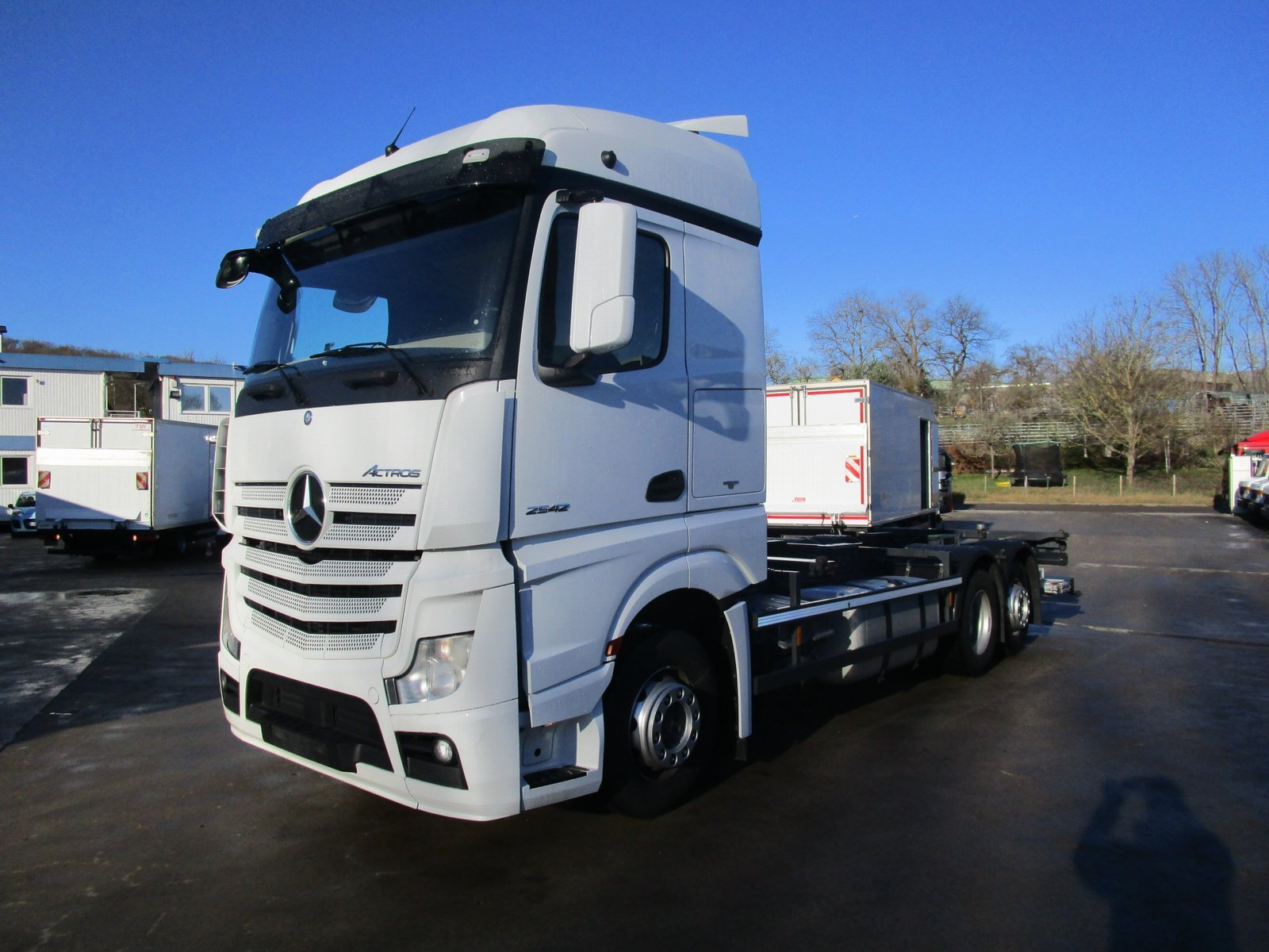 ACTROS 2542 LL Streamspace BDF Chassis LBW 1,5 T
