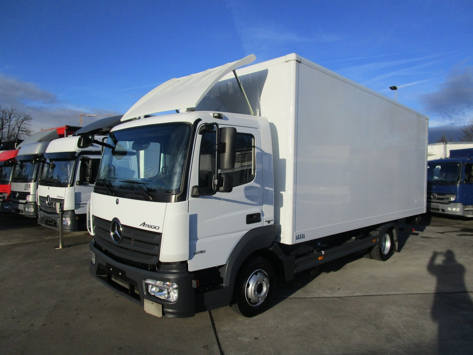 ATEGO IV 816 L Koffer 6,10 m LBW 1 to. AHK
