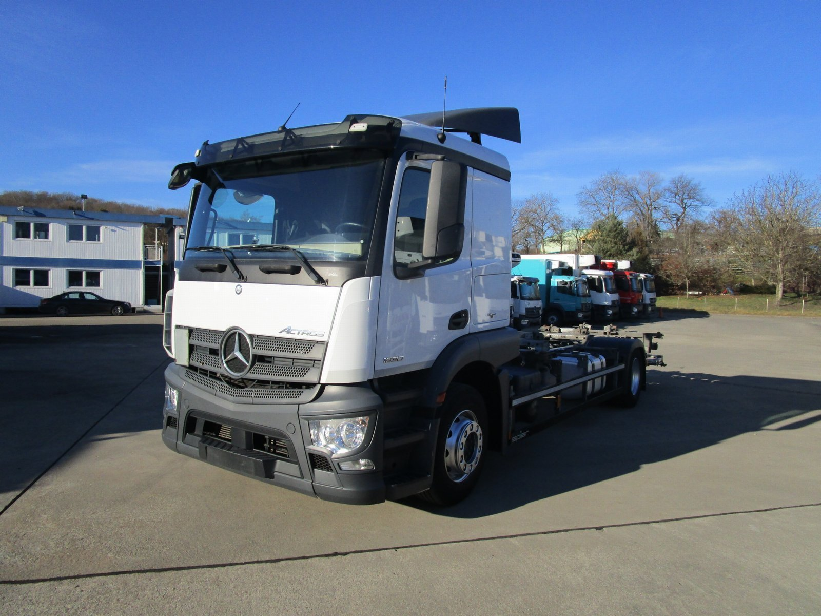 ACTROS 1830 L Schlafk. BDF-Fahrgestell LBW 1,5 T