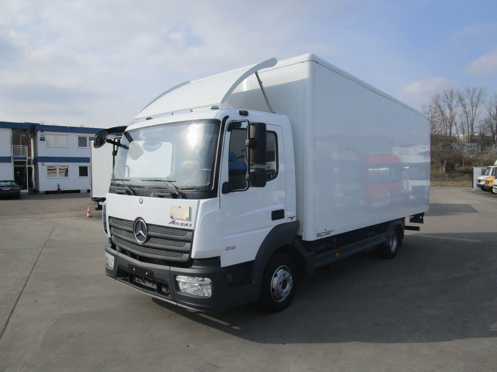 ATEGO IV 816 L Koffer 6,1 m LBW 1 to.*EURO 6*AHK