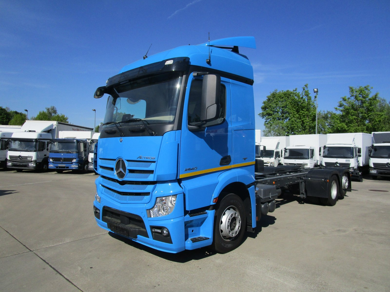 ACTROS 2540 LL STREAMSPACE Fahrgestell LENKACHSE