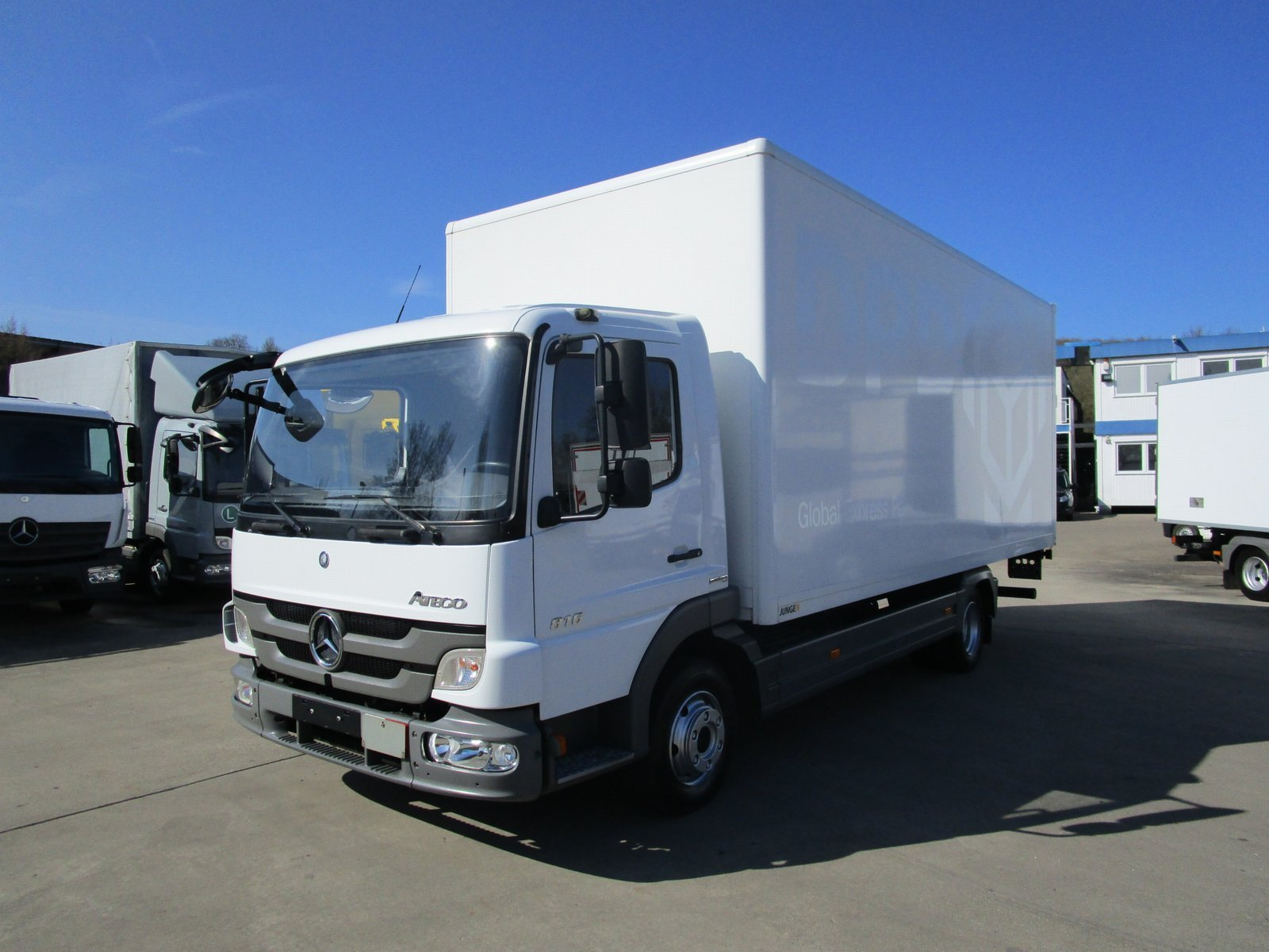 ATEGO III 816 Koffer 6,10 m LBW 1 to.