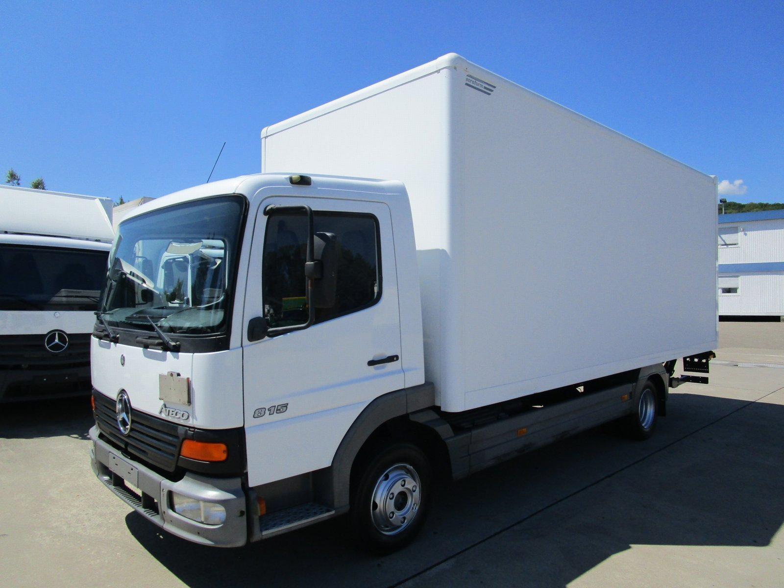 ATEGO 815 Koffer 6,10 m LBW 1 to.