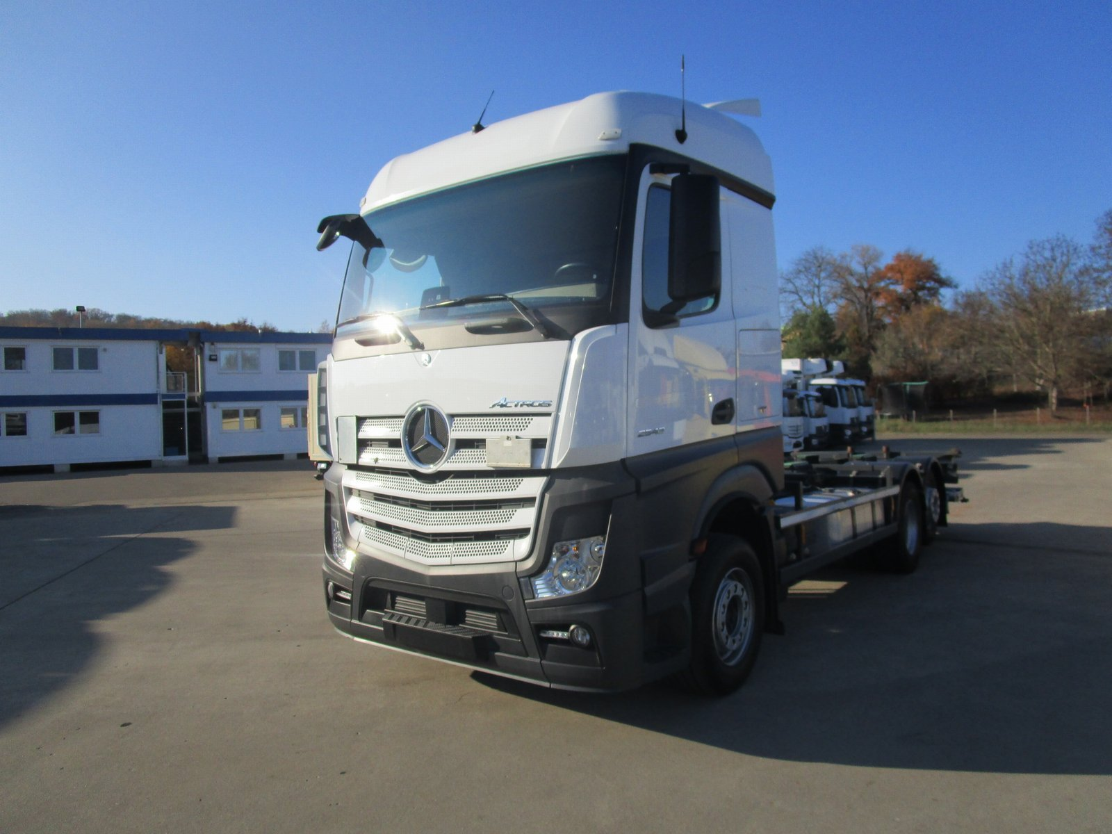 ACTROS 2543 LL BDF-Fahrgestell LBW 1,5 to.*2016