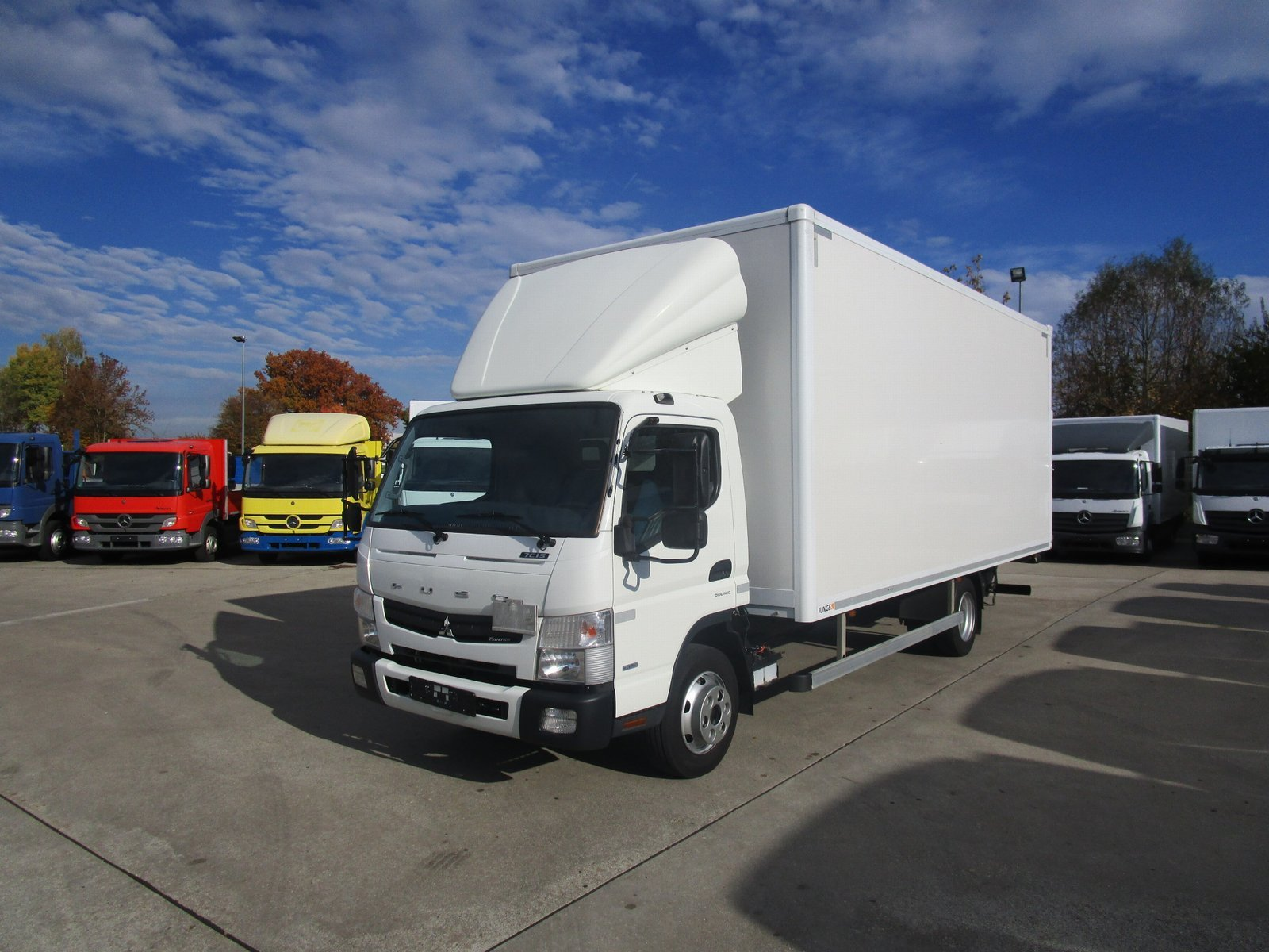 FUSO Canter 7 C 15 Koffer 6,1 m LBW 1 to. Klima