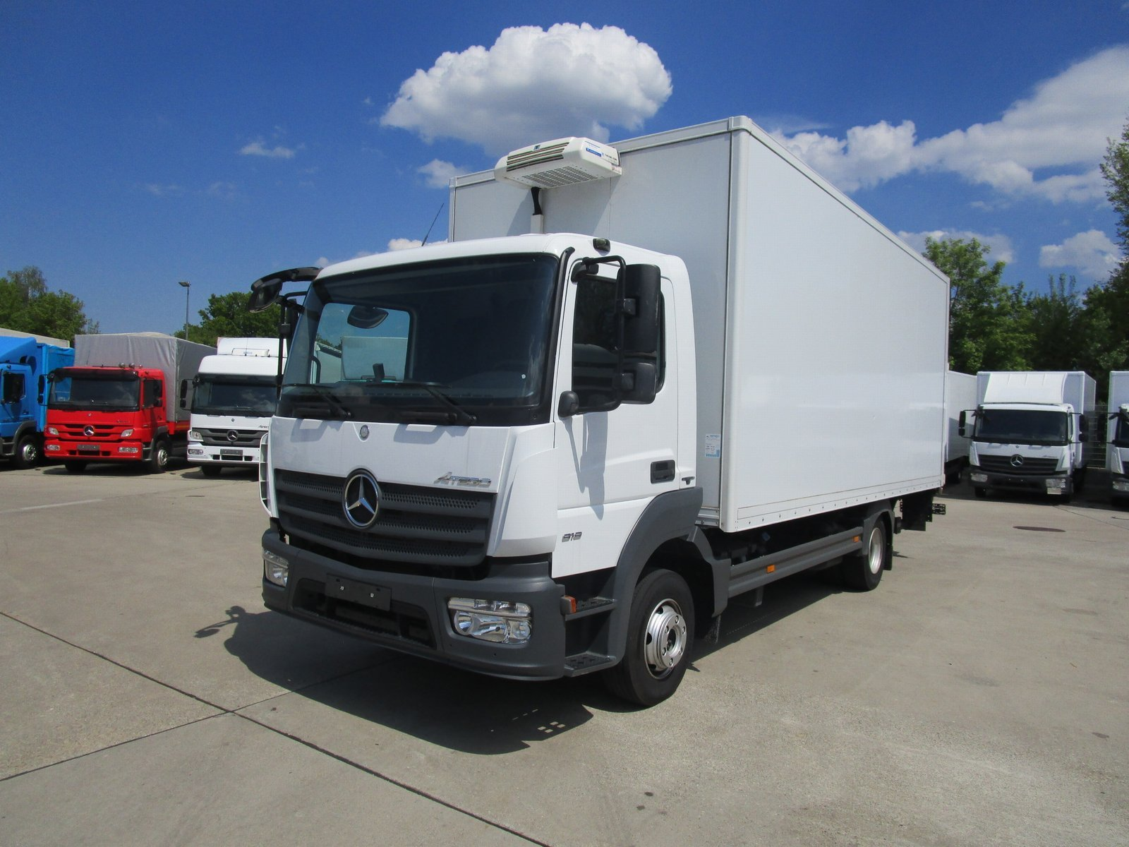 ATEGO IV 818 L Kühlkoffer 6m LBW 1 T*THERMOKING