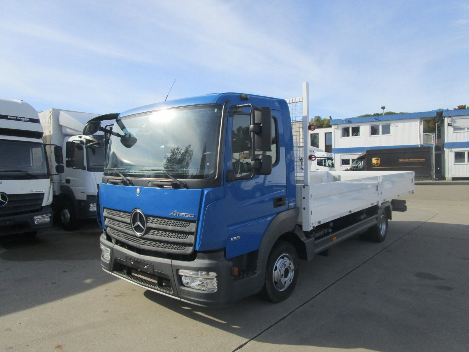 ATEGO IV 816 Fahrgestell RS 4.220 mm