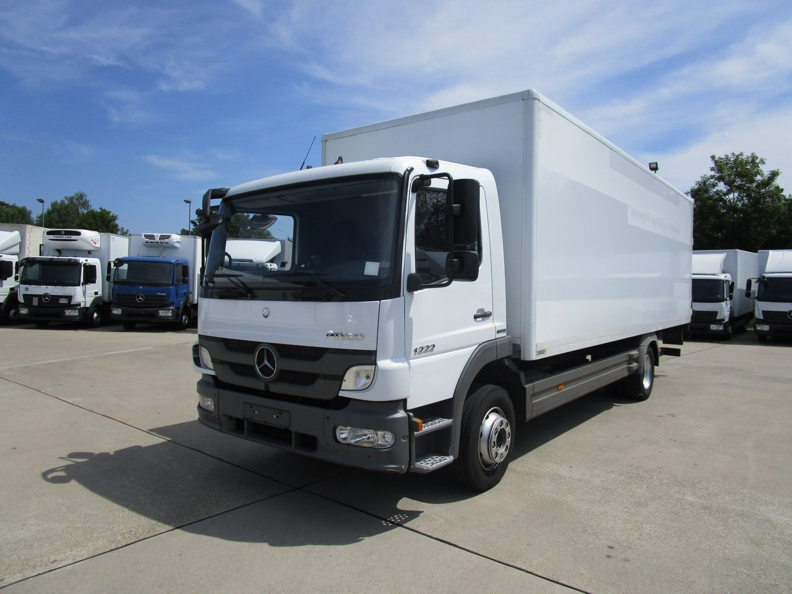 ATEGO III 1222 L Koffer 7,20 m LBW 1,5 to.