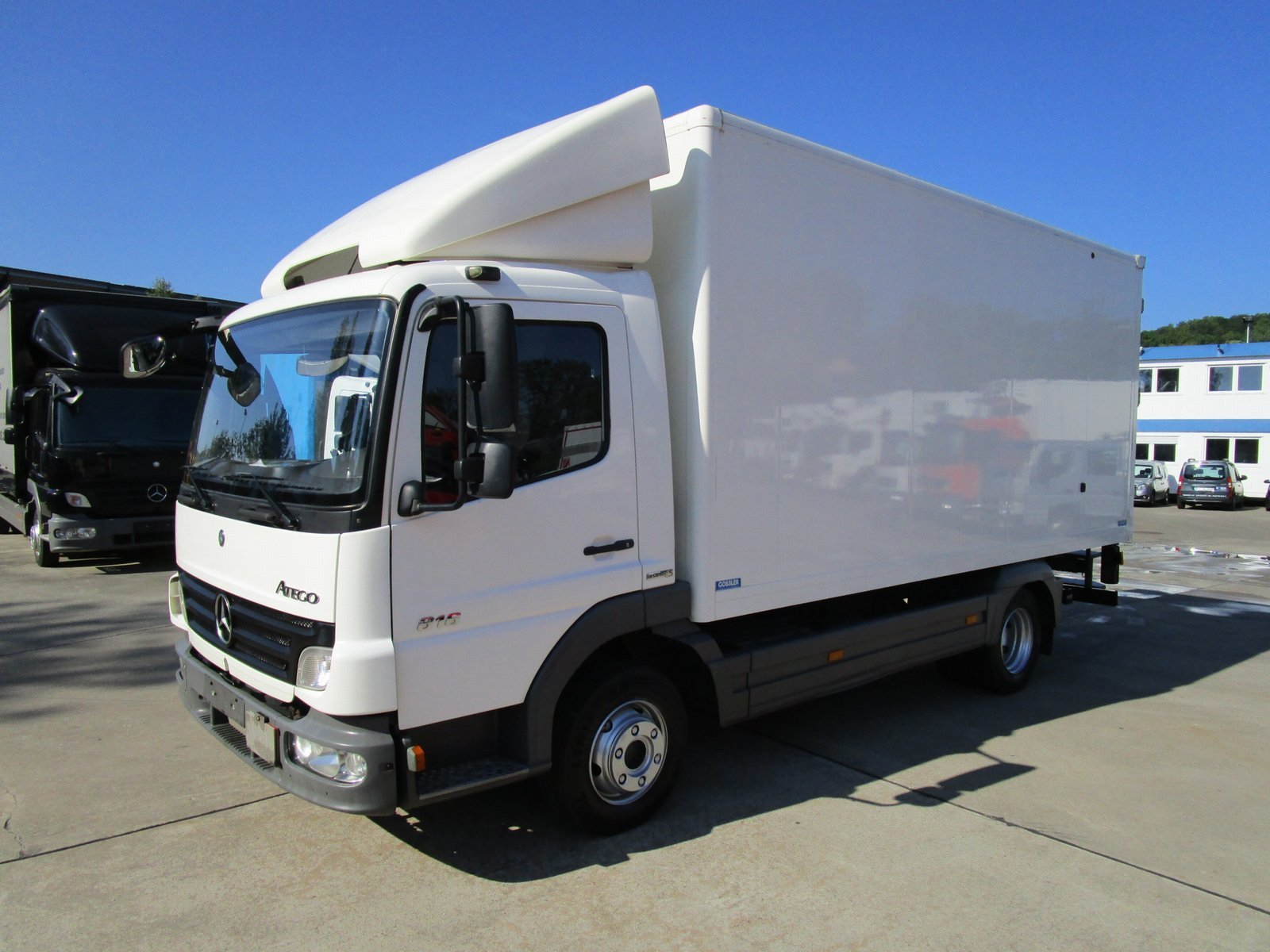 ATEGO 816 Koffer 5,10 m LBW 1 t*EURO 5*NL 2,59 T
