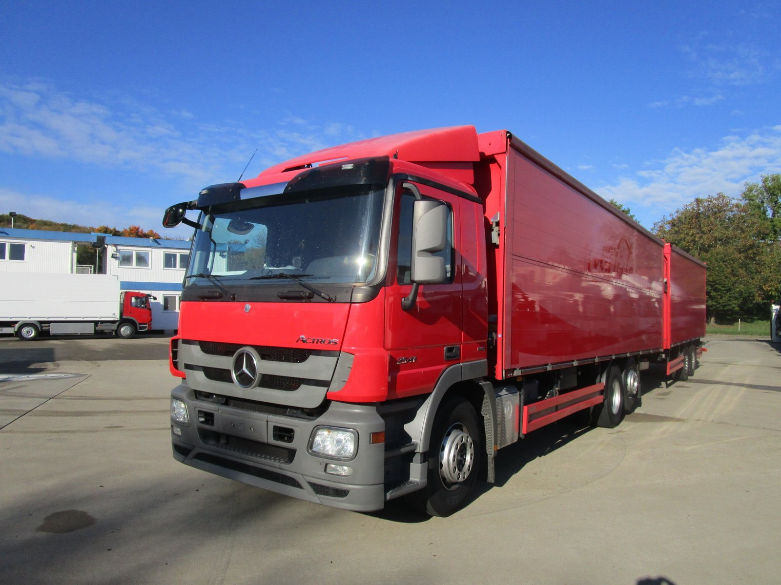 ACTROS 2541 L GETRÄNKEKOFFER 8,5m* LBW 2 T