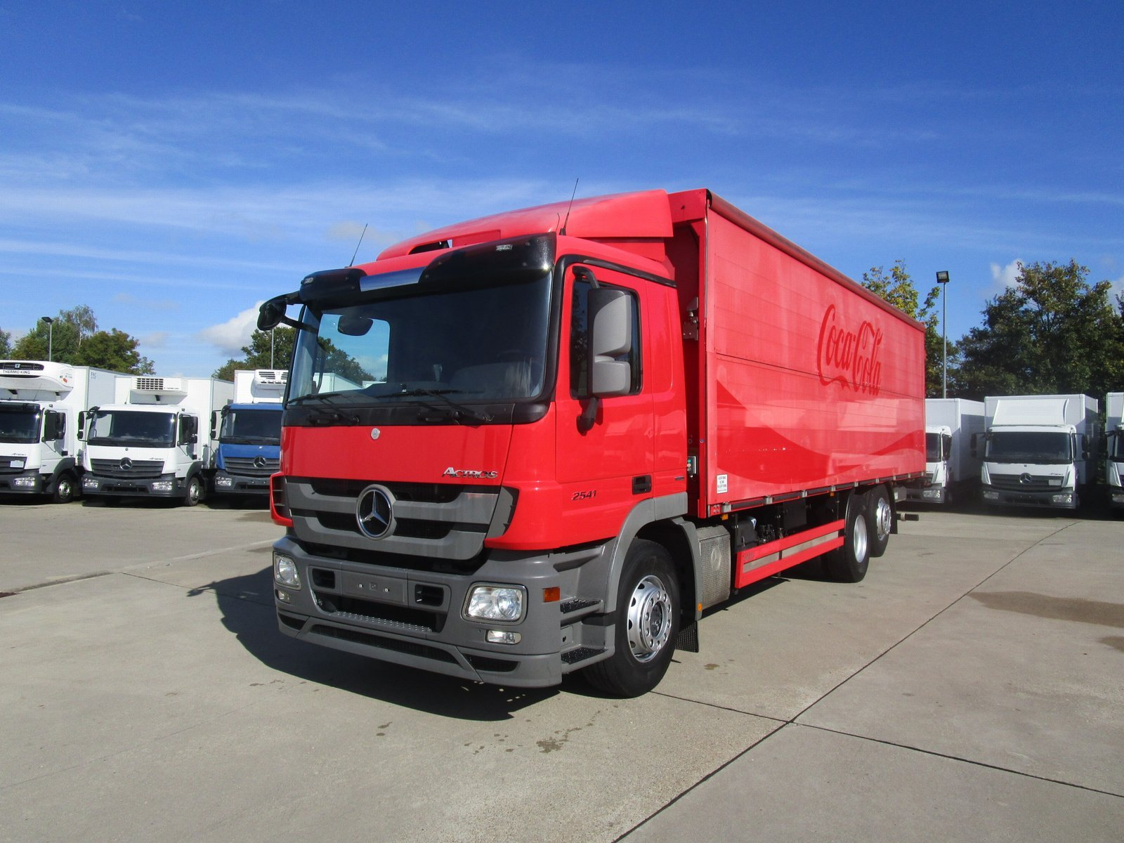 ACTROS 2541 L Getränkekoffer 8,50 m LBW 2 to.