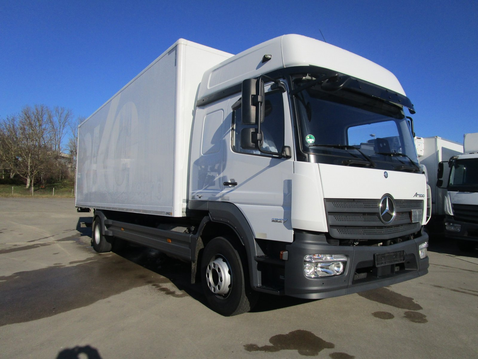 ATEGO 1527 L BIGSPACE Koffer 7,20 m LBW 1,5 TO.