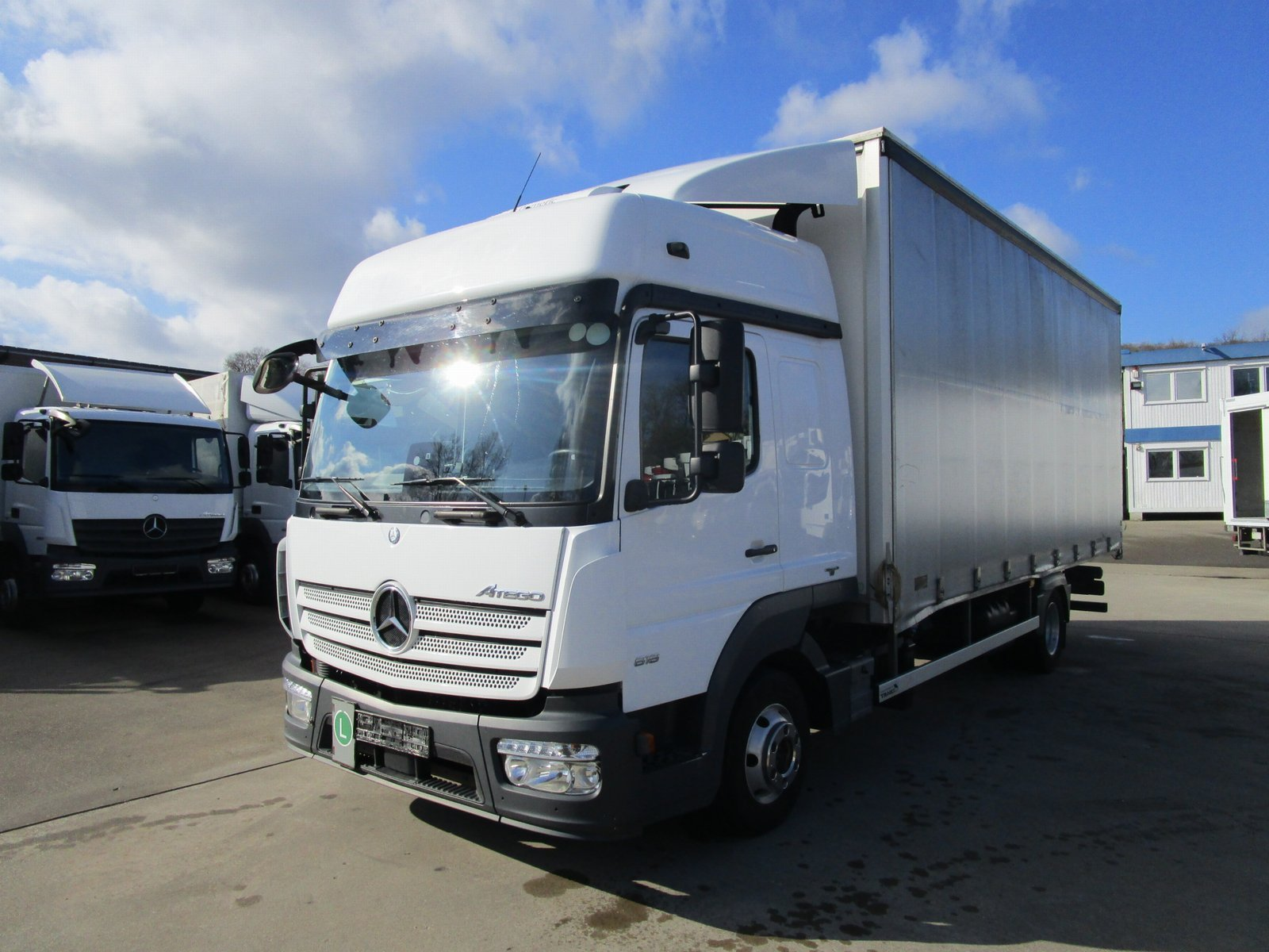 ATEGO IV 818 L BIGSPACE Pritsche*Tautliner TANG